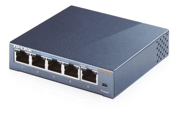 Switch Tl-sg105 5 Bocas Gigabit A 10/100/1000mbps Rosario