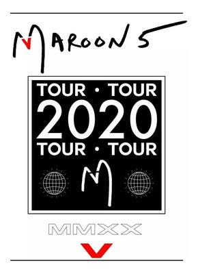 2 Ingressos Maroon 5 + Melim Cadeira Inferior - Inteira - Sp