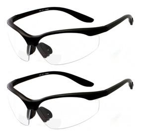 e789bb8f9d Gafas De Seguridad Bifocales De 2 Pares Lentes Transparentes