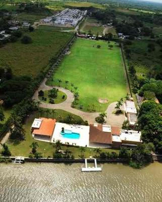 Residencia En Venta A Orilla Del Rio Jamapa