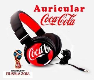 Auriculares Coca Cola Rusia 2018