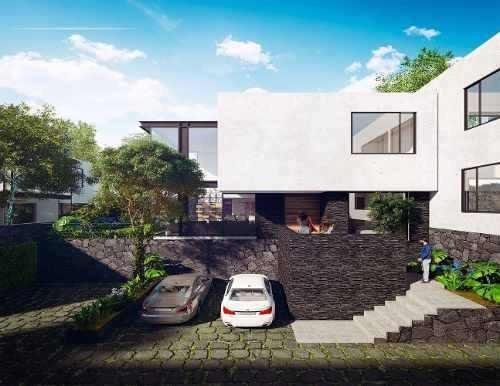 Residencias Con Jardín En Condominio En Corazón De Tlalpan