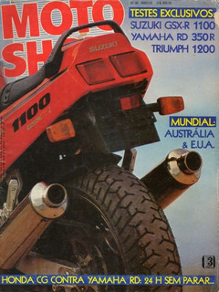 Motoshow N°99 Suzuki Gsx-r 1100 Yamaha Rd 350r Triumph 1200