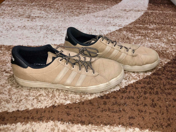 Tenis adidas Daily Bege
