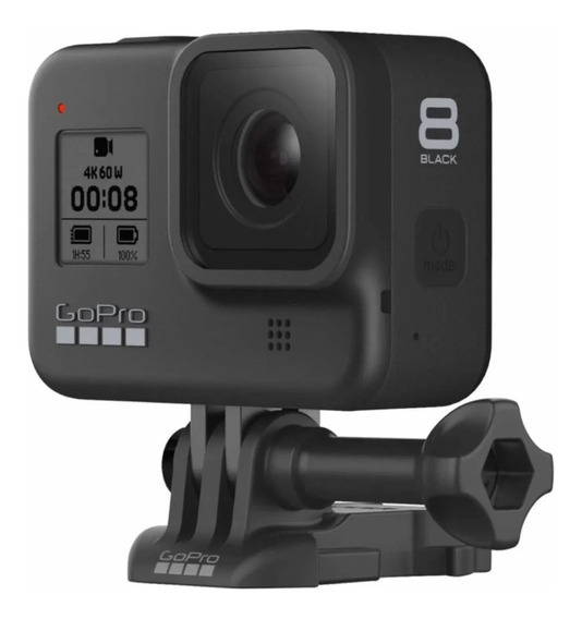 Câmera Digital Gopro Hero 8 Black 12 Mp 4k Com Nfe Nacional