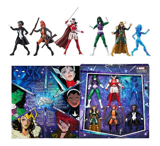 Marvel Legends Series A-force Heroinas Exclusivo Sdcc