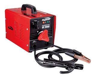 Máquina De Solda Elétrica Bivolt 6.5 Kva 60hz W-2000 Kajima