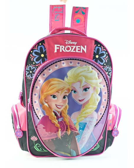 Mochila Escolar De Espalda Nena Frozen 18 Top 3 Oficial