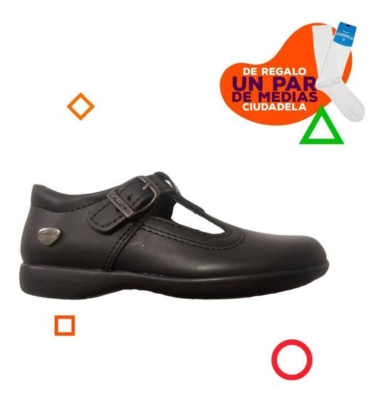 Zapatos Guillermina Cavatini Con Hebilla De Niños