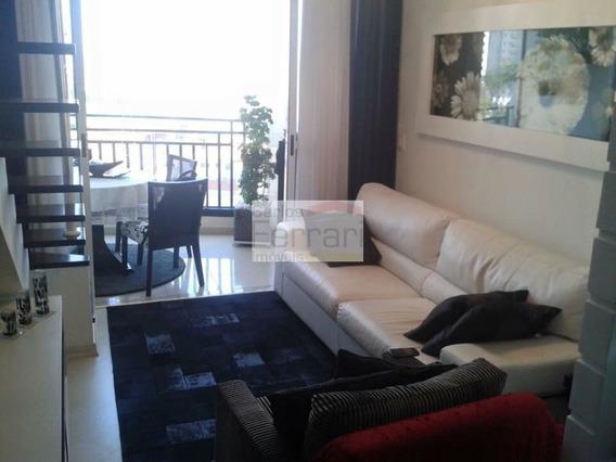 Cobertura Duplex Com 4 Dormitórios - Cf20007