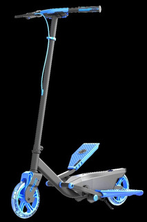 Neon Vibe Flyer Blue, Scooter Azul Luz Led