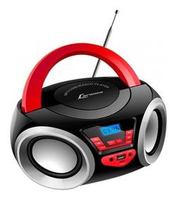 Rádio Portátil Lenoxx Bd110 Boombox Preto E Vermelho, 4w R