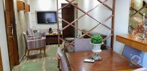 Apartamento Com 2 Dormitórios À Venda, 60 M² Por R$ 339.000,00 - Encruzilhada - Santos/sp - Ap5342