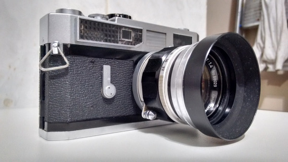 Canon 7 Rangefinder Lente 50mm - Rara