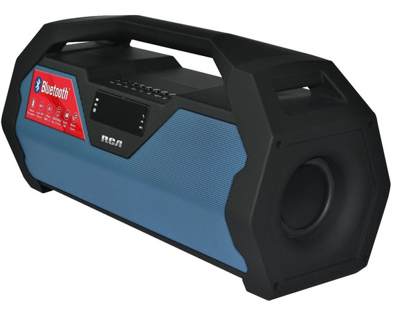 Boombox Portatil Bluetooth, Fm, Sd, Aux 16 Watts De Salida!