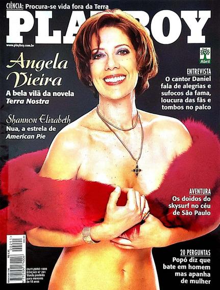 Revista Playboy - Ed. 291 - Outubro 1999 - Angela Vieira
