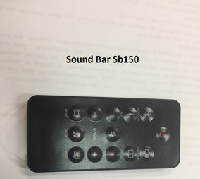 Controle Remoto Jbl Sound Bar Sb150 - Original Sem Uso