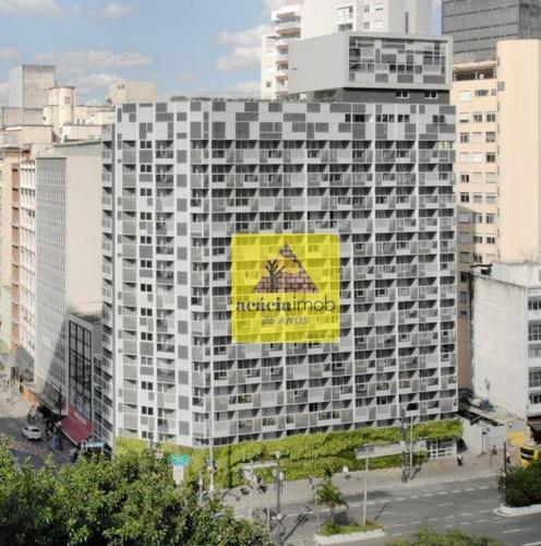 Imagem 1 de 10 de Studio À Venda, 24 M² Por R$ 380.000,00 - Consolação - São Paulo/sp - St0014