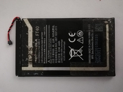 Bateria Motorola Ft40 Original