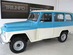 Rural 4x4 6 Cilindros 1974 Super Nova