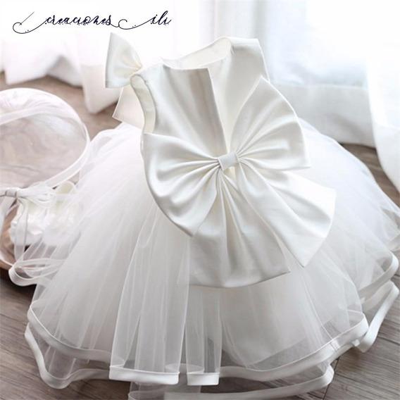 Vestidos Para Niñas De Bautizo Fiestas Elegantes Por Encargo