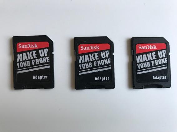 Adaptador Cartão De Memoria Micro Sd Sandisk Frete $10 Carta