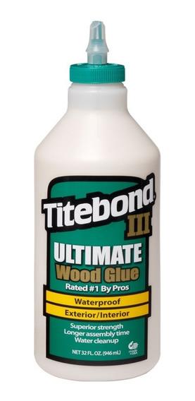 Cola Titebond Ultimate 3 - À Prova D´água 946ml 1kg Promoção