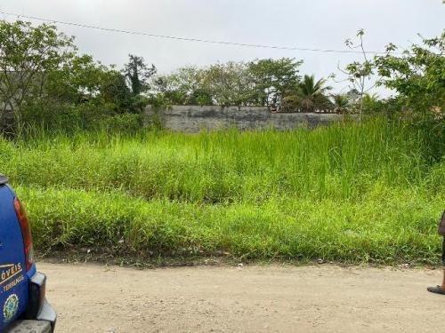 Terreno No Bairro Palmeiras Em Itanhaém Lado Serra