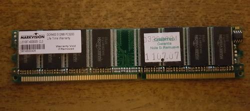 Memoria Ram Markvision Ddr400 Pc3200 512mb