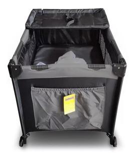 Practicuna Bebesit 2101b Gris Negro Plegable Transportable