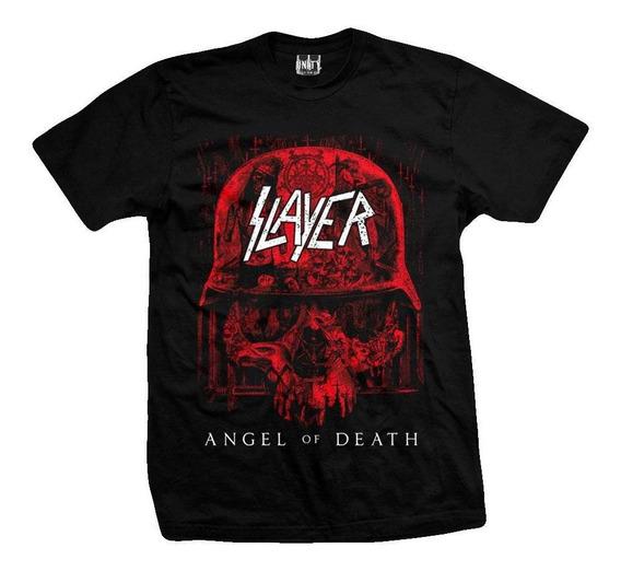 Remera Slayer Angel Of Death
