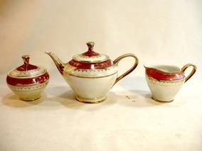 Jogo De Café Ou Chá Porcelana Maua Decada De 60 Raridade