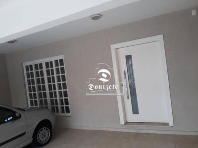 Sobrado Com 3 Dormitórios Para Alugar, 210 M² Por R$ 4.500/mês - Centro - Santo André/sp - So2480