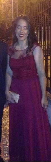 Vestido Madrinha Casamento Veste M/g