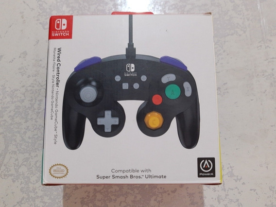 Controle Nintendo Switch Powera - Wired Controller Gamecube