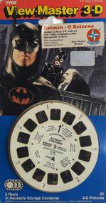View-master 3-d Batman O Retorno Estrela 94 Crosstore