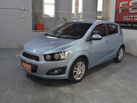 Chevrolet Sonic 1.6 Lt Nafta 2013 5 Puertas Color Celeste