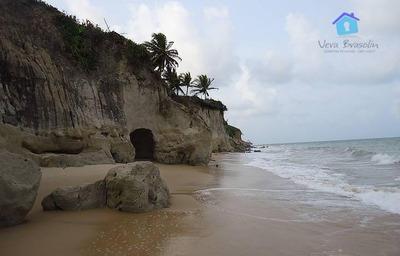 Terreno Com Linda Vista Para Praia De Jacumã - Conde - Pb - Te0616