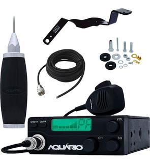Rádio Px 40 Canais Rp-40 Antena 2,7m Cabo Suporte Volvo Vm