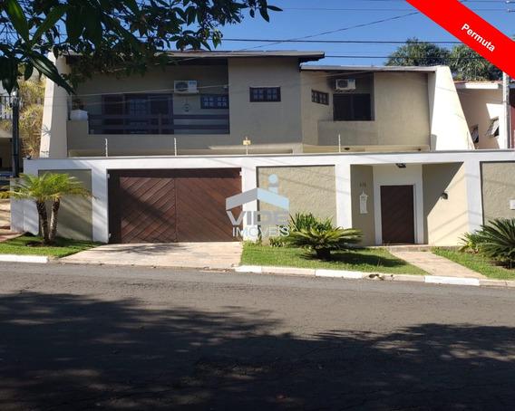 Casa Para Vender Em Campinas- Condomínio Fechado Parque Da Hípica - Ca03914 - 34415039