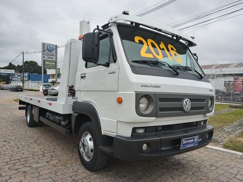 Vw 8.160 Delivery Plus Ano 2016 Com Plataforma Guincho