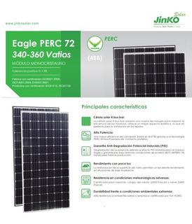 Panel Solar Jinko 345w 72 Celdas- Monocristalino-