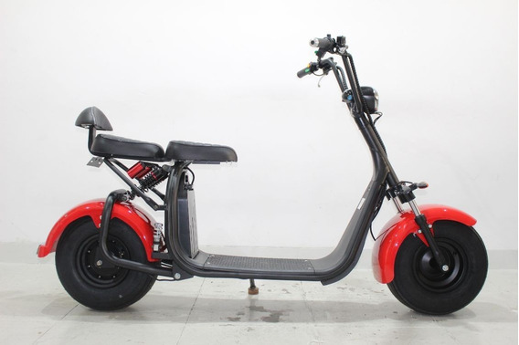 Moto Elétrica Gloov Scooter Modelo S2 Vermelha 2019 Zero Km