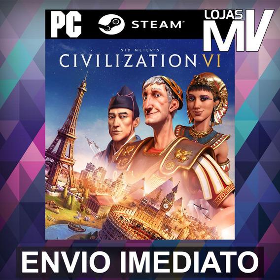 Sid Meiers Civilization Vi Pc Steam Gift Presente