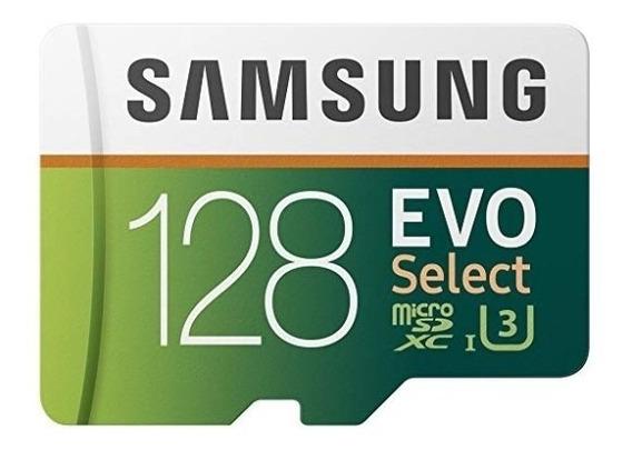 Cartão Micro Sd Samsung Evo Select 128gb Original