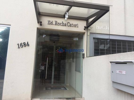 Apartamento Com 1 Dormitório Para Alugar, 50 M² Por R$ 800,00/mês - Centro - Londrina/pr - Ap1251