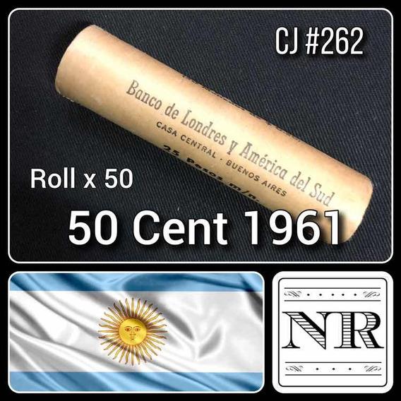 Roll - Argentina - 50 Centavos - Año 1961 - Banco Londres