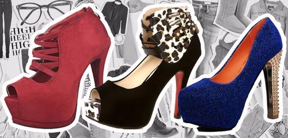 Sapatos Femininos De Salto Alto Importados