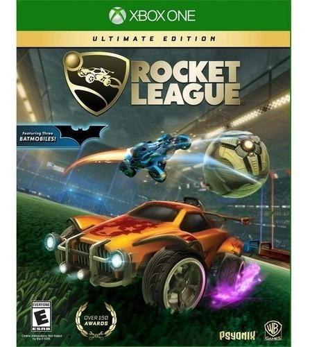 Rocket League Ultimate Edition Xbox One Mídia Física Port