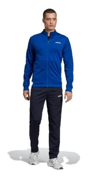 Pants Completo adidas Hombre Azul Mts Basics Ei5581